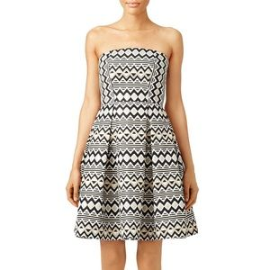 Slate & Willow strapless cocktail dress